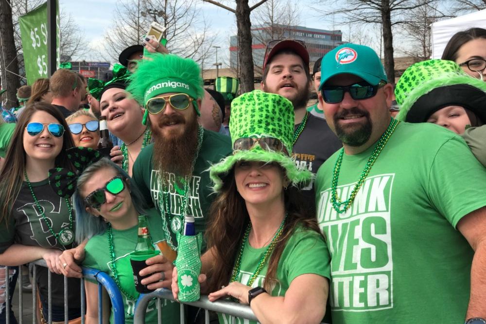 Dallas St. Patrick's Parade and Festival on Greenville Avenue
