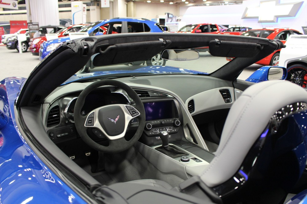 DFW Auto Show  New Model Year Vehicles and HighEnd Dream Cars