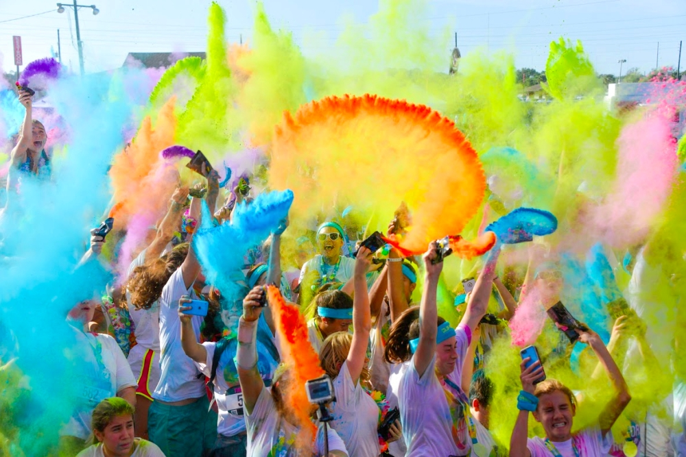 The Color Run Tropicolor World Tour Comes To Dallas | Breaking News and Top Stories | Dallas, Fort Worth, DFW Metroplex, Texas, USA