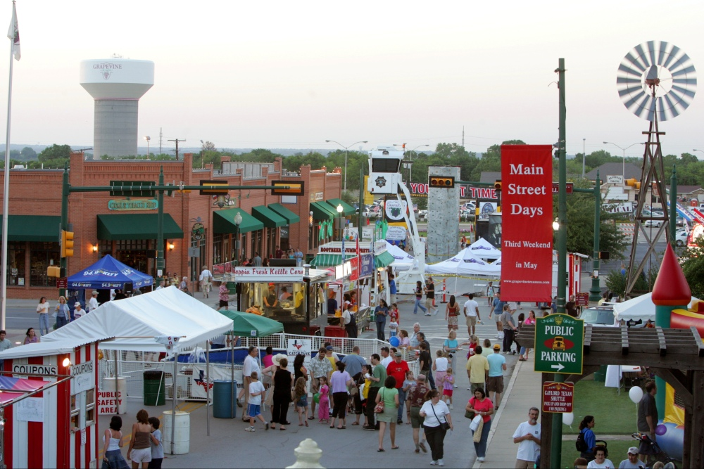 Tap Into Three Days of Fun at Grapevine's Main Street Fest