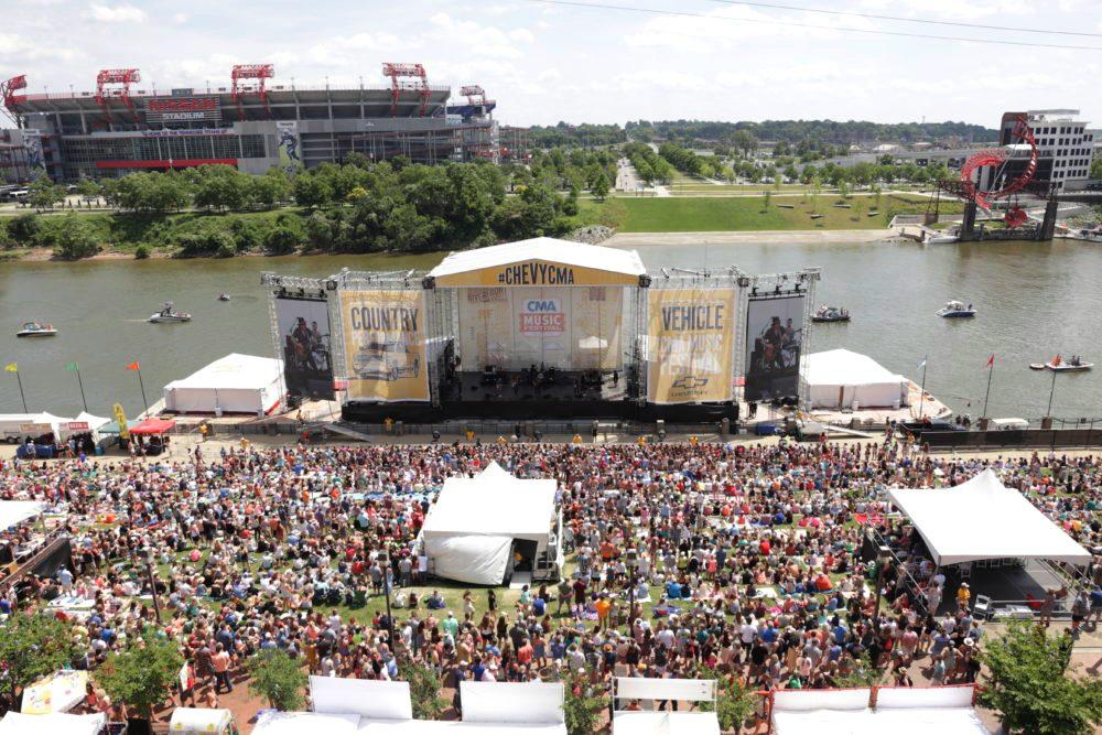 Cma Fest 2019 Nissan Stadium Riverfront Stage
