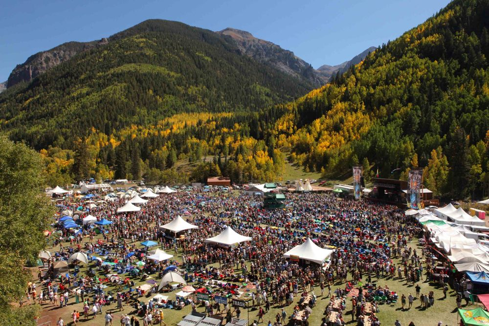 Telluride Blues And Brews Festival 2019 Mountain
