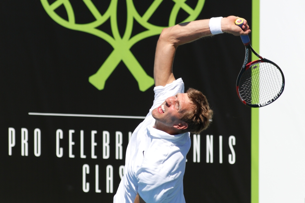 Dirk Nowitzki Pro Celebrity Tennis Classic 2019 Smu