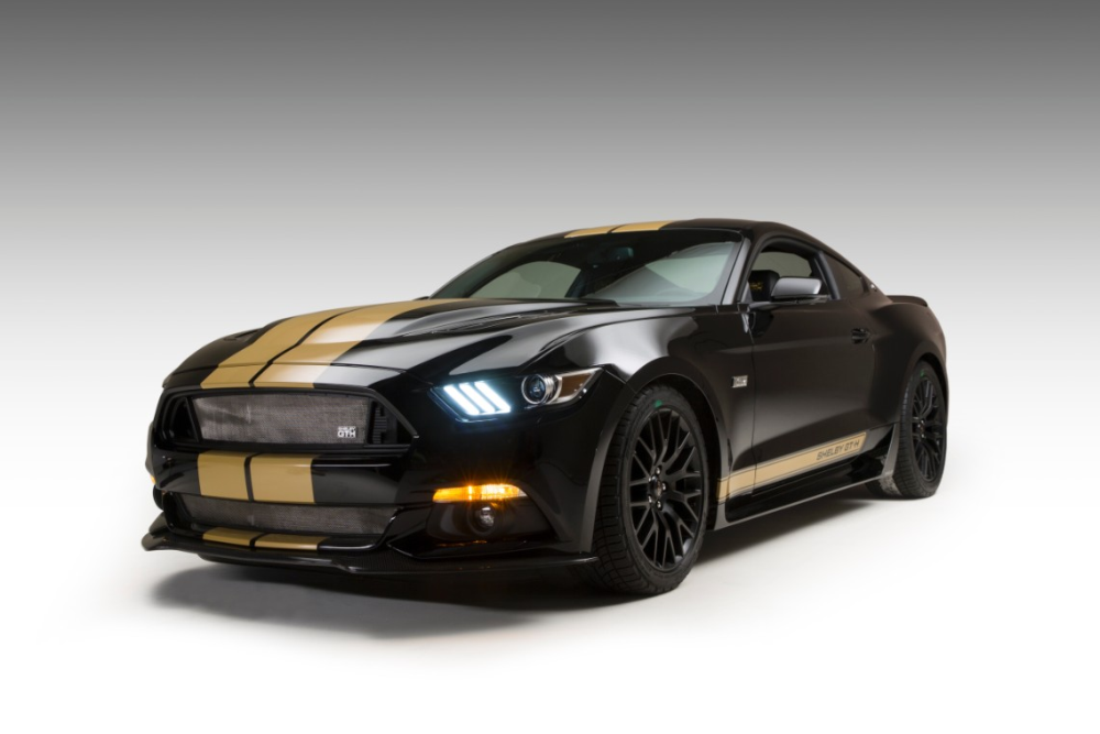 Carroll Shelby Foundation to Auction 2016 Prototype Shelby GT-H at Barrett-Jackson Auction