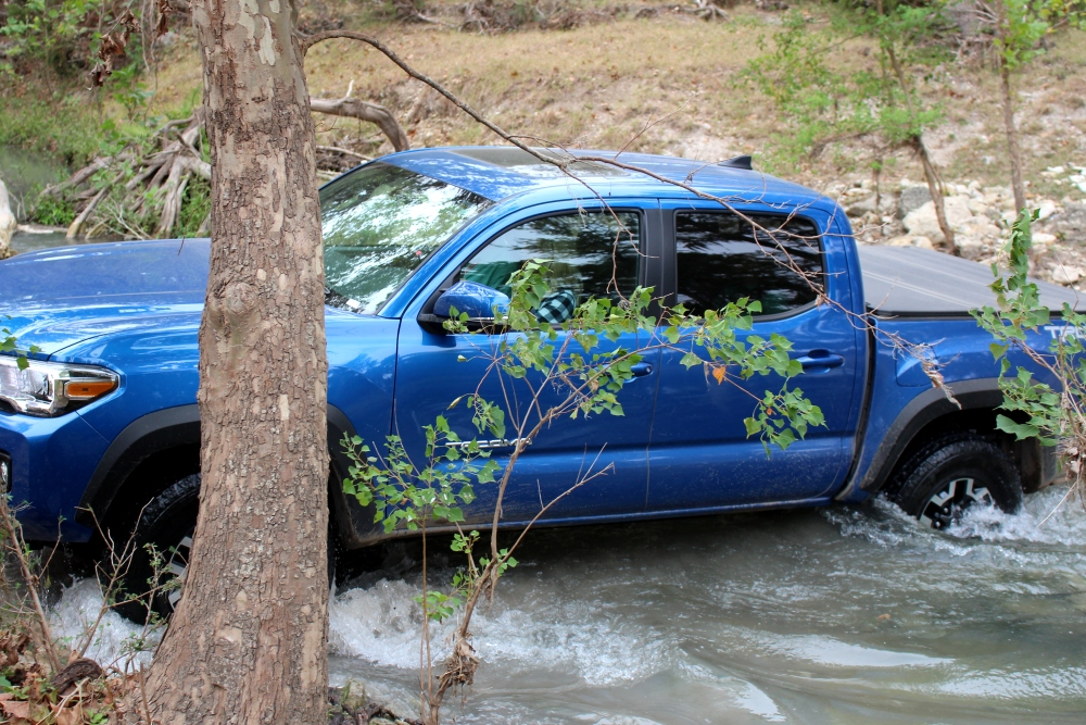 Off-Roading in the Toyota Tacoma TRD