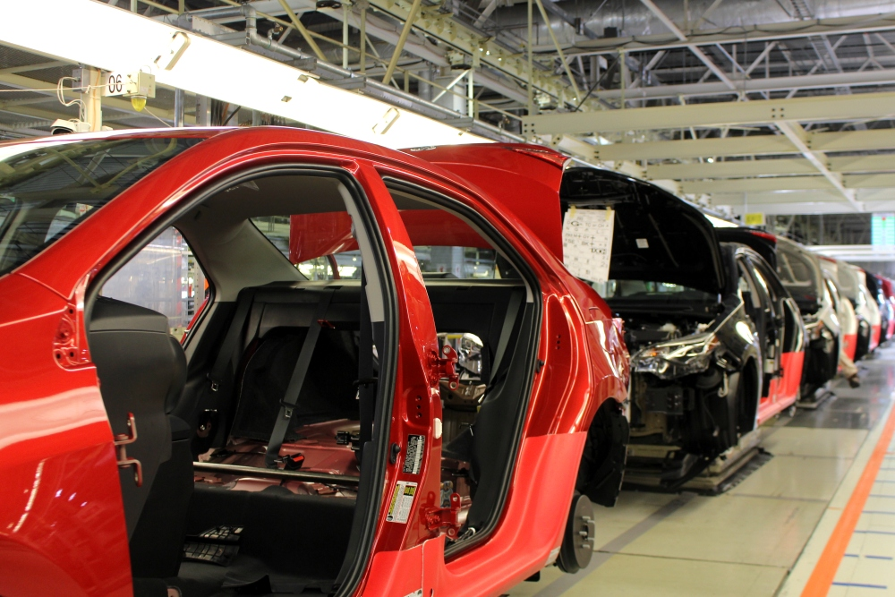 Toyota Invests $170 Million at Toyota Motor Manufacturing Plant