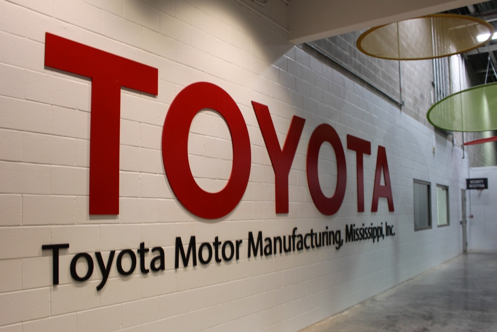 Toyota Invests $170 Million at Manufacturing Plant in Blue Springs, Mississippi