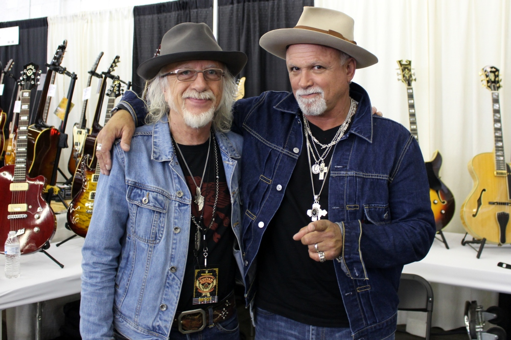 Interview with Guitarists Brad Whitford and Derek St. Holmes