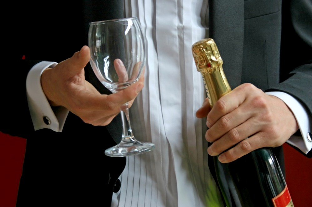 How To Open and Serve a Bottle of Champagne