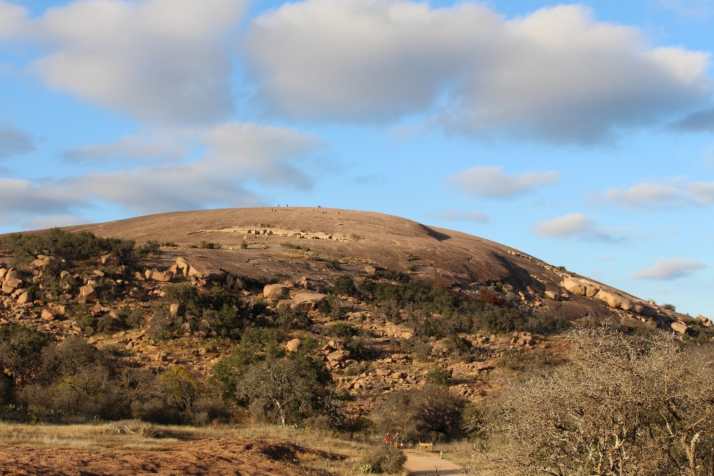 Stargazing at Enchanted Rock in Central Texas