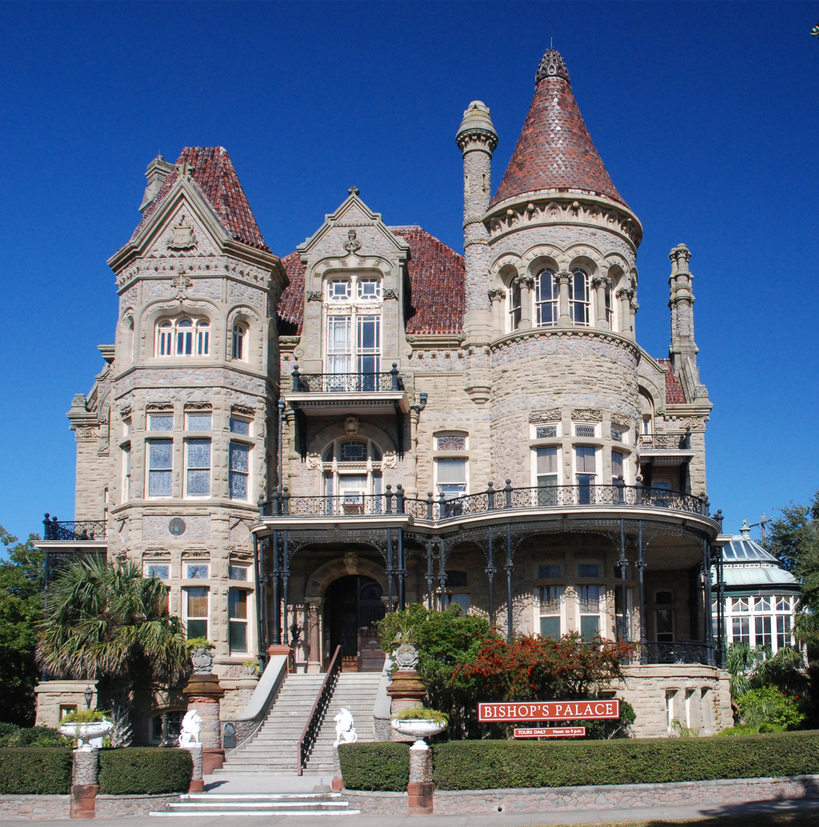 2008 Idea House In Galvestion Texas: 1892 Bishop's Palace