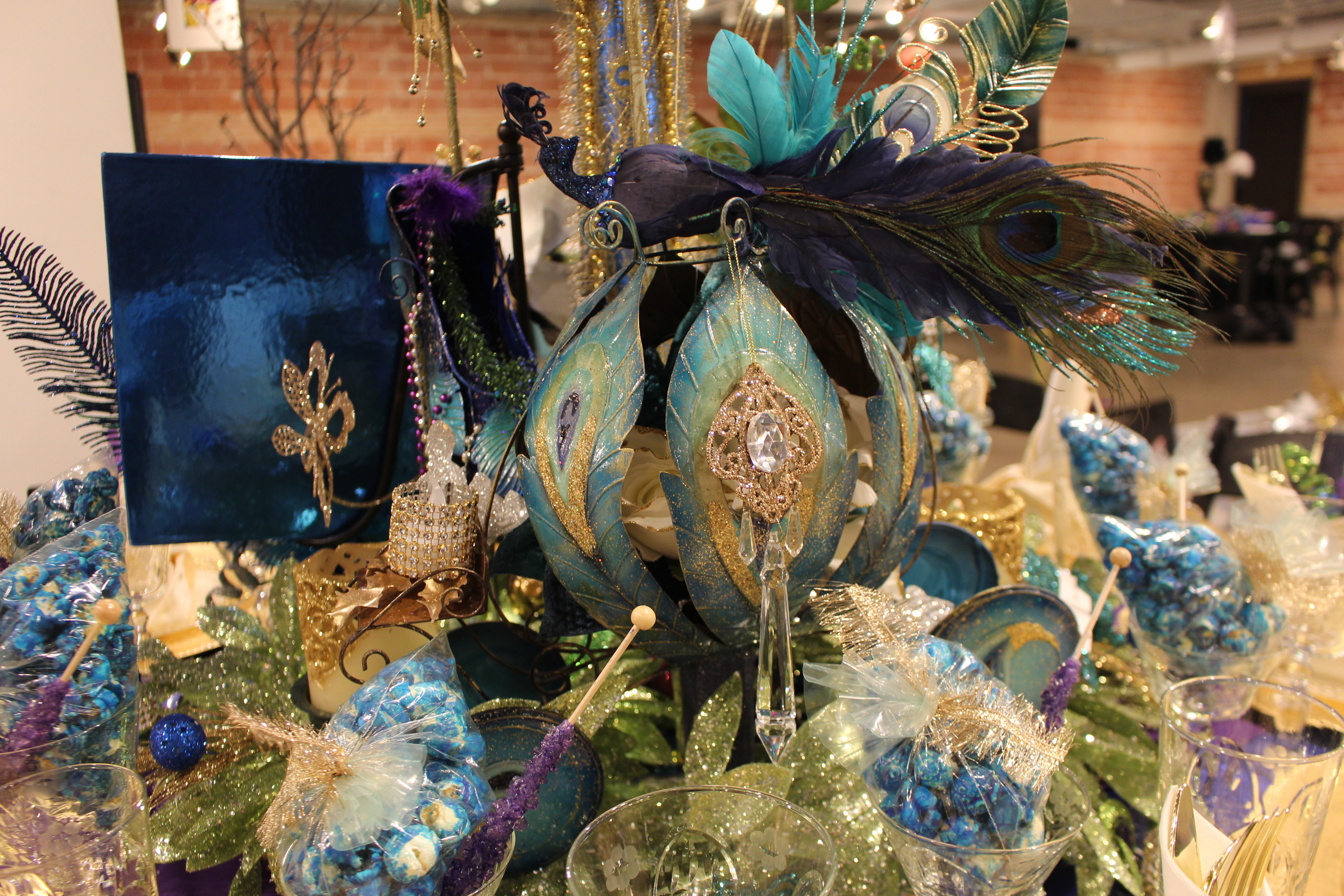 Fairy Tale Centerpiece and Table Setting FOR SALE | Wedding, Birthday, Mardi Gras Decorations