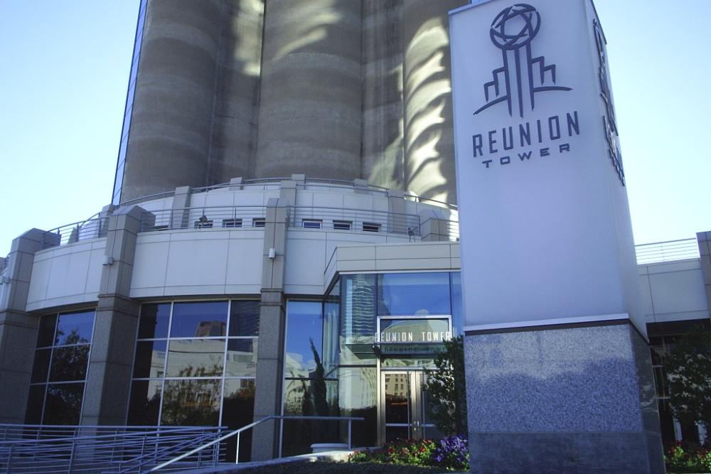 Reunion Tower Geo Deck Observation Deck Cloud Nine Cafe