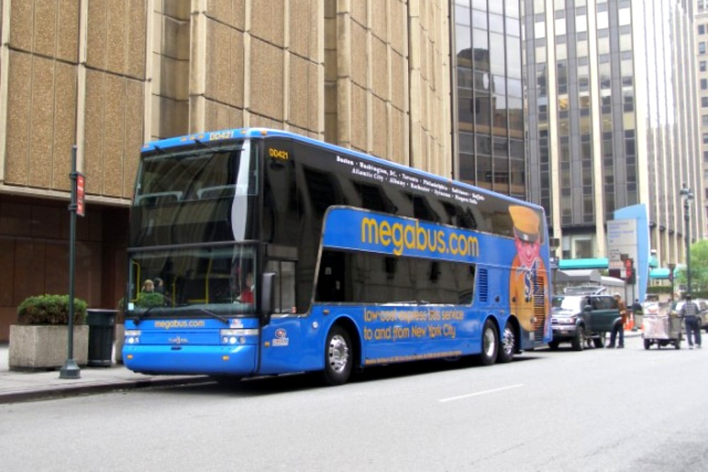 Megabus Offers Intrastate Transit with Fares from $1.00