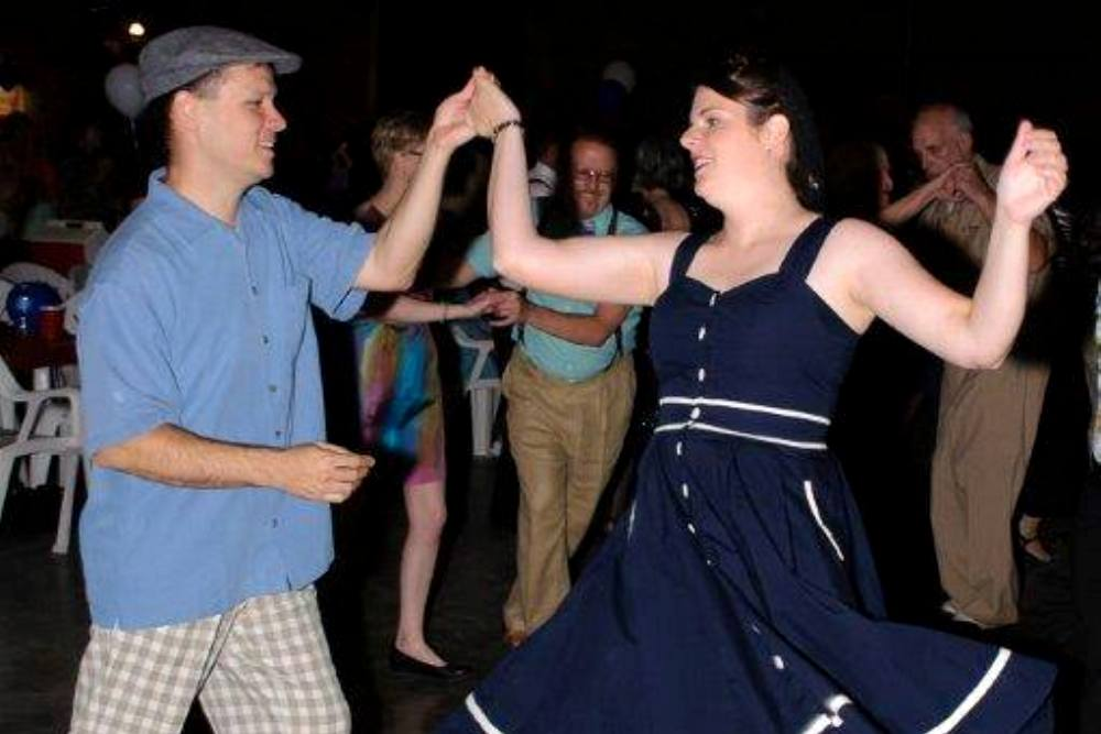 Big Band Hangar Dance at the Vintage Flying Museum