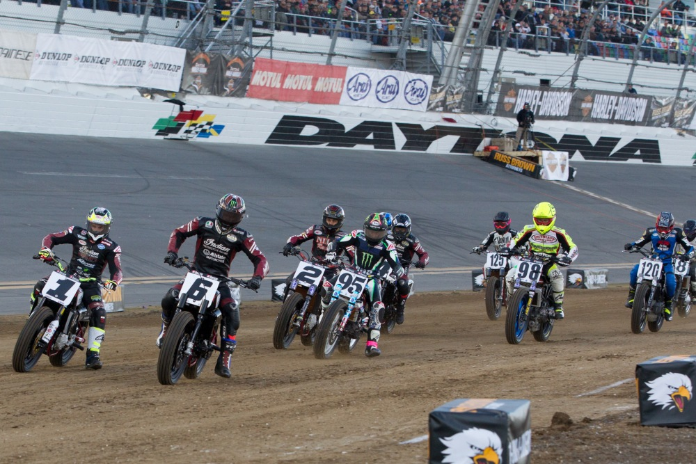 American Flat Track Racing Series Comes to Texas Motor Speedway's Dirt Track | News | Fort ...