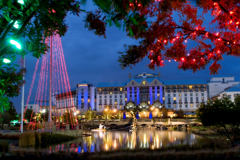 Gaylord Texan Resort And Convention Center Features Restaurants Spa