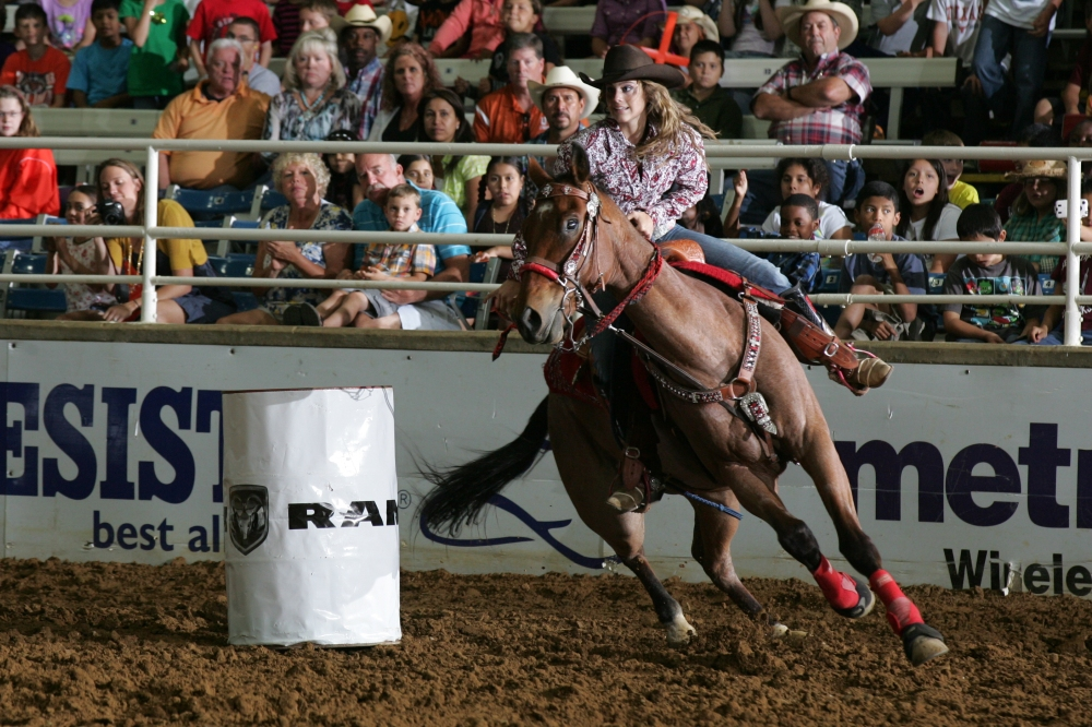 Professional and Championship Rodeo Action