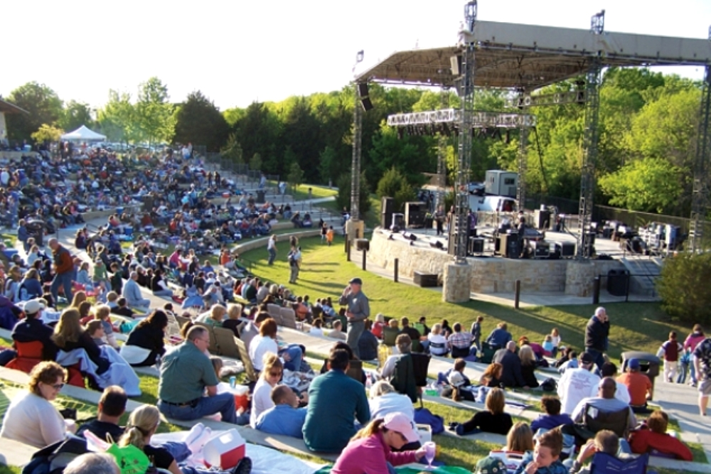 Live Music Venues, Concert Halls, and Outdoor Stages