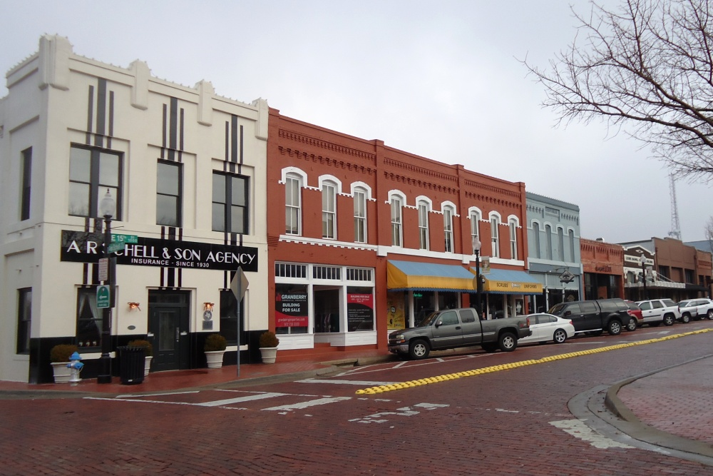 Plano Downtown Historic District Listed In The National